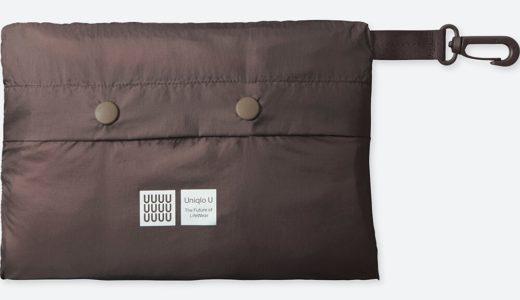 ユニクロユー新作:ポケッタブルコートには合計6つのポケットがある