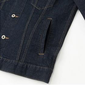 ユニクロのデニムジャケット最新版はジーンズイノベーションセンターで研究開発・腰ポケットを新たに追加