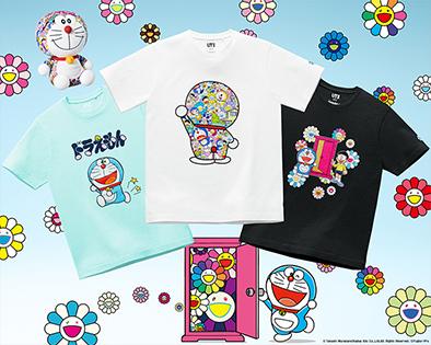 ユニクロ「ドラえもん」のコラボTシャツ