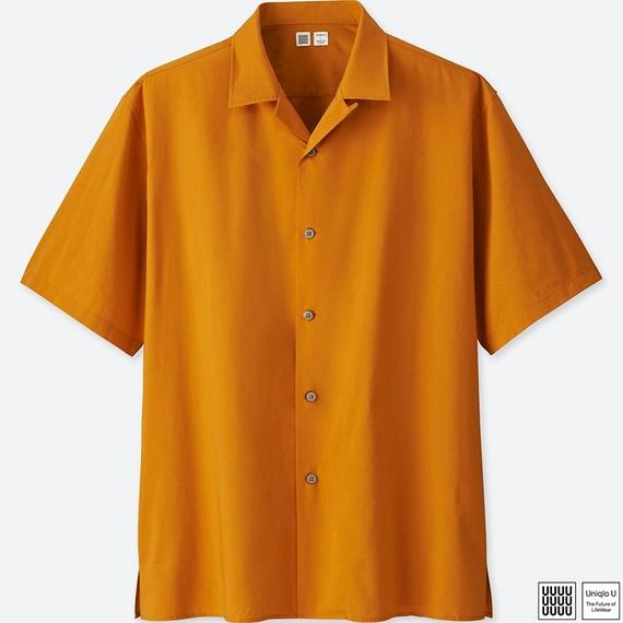 ユニクロユー オープンカラーシャツ